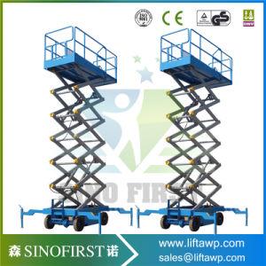 8m 1000kg Mini Mobile Electric Scissor Lift pictures & photos