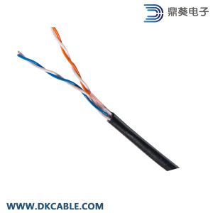 2pairs 24AWG UTP Cat5e/Telephone/Security Water Proof, UV Protection Cable pictures & photos