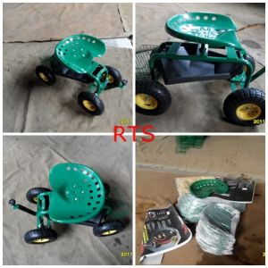 Metal Tractor Seat on Wheels pictures & photos