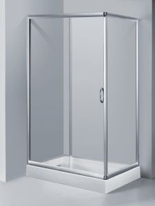 Hot Selling Simple Shower Cabin\ 6mm Shower Enclosure\ Simple Shower Room pictures & photos