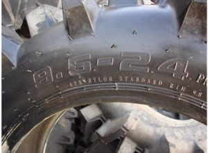 China Factory Directly Supply 9.50-16, 9.5-24 9.00-16 10.0/75-15.3 Farm Tyre pictures & photos