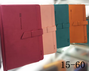 OEM PU Leather Agenda/Notebooks/Diaries pictures & photos