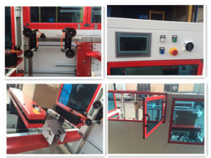 Yupack High Speed Fully Automatic Box Erector Machine pictures & photos