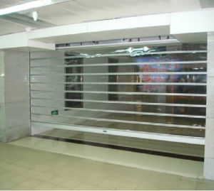 Straight Clear Transparent Crystal Roll up Door pictures & photos