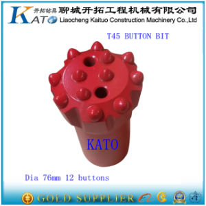Deep Hole Thread Rock Ballistic Button Bit (T38 T45 T51) for Hard Rock pictures & photos