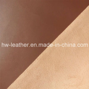 Microfiber PU Leather for Car Seat, Furniture, Shoes (HW-765) pictures & photos