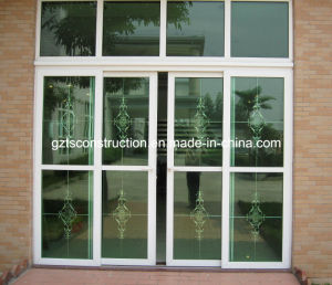 Energy Efficient Double Glazed Australia Standard Aluminum Sliding Doors with As2047 Aluminium Windows and Doors pictures & photos
