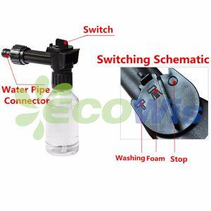 Car Cleaner High Pressure Water Pipe Gun Foam Sprayer pictures & photos