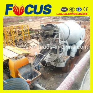 20m3/H, 30m3/H, 60m3/H, 80m3/H Trailer Mounted Concrete Line Pump pictures & photos