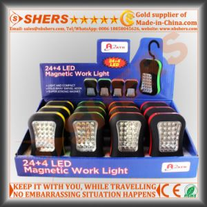 Cordless Portable 24+4PCS LED Working Lamp pictures & photos