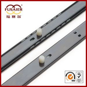 27mm Quick Assembly Single Extension Drawer Slide pictures & photos