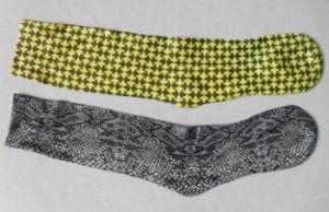 Half Print Basketball Custom Sublimation Sock pictures & photos