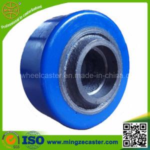 4 Inch European Type Polyurethane on Cast Iron Center Wheel pictures & photos
