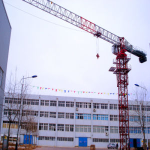 Topless 6010 Model Tower Crane with SGS pictures & photos