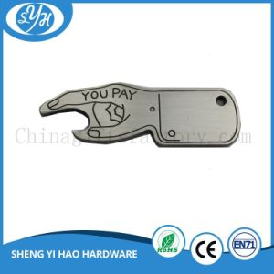 Customized Stainless Steel Credit Card Bottle Opener pictures & photos