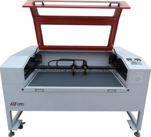 Garment Fabric Leather Laser Cutting / Engraving Machine Double Head with Auto Laser Control (WZ12080DI)