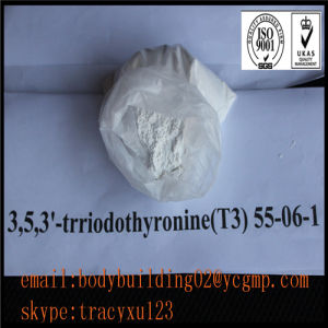 99% L-Triiodothyronine (T3) CAS 55-06-1 Oral Injectable Anabolic Steroid Hormones pictures & photos