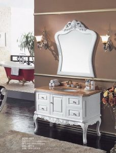 European Style Classical Bathroom Furniture Vanity (ADS-631) pictures & photos