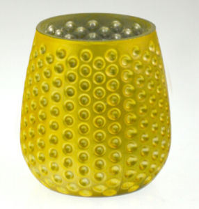 Yellow Pineapple Candle Holder (DRL15040) pictures & photos