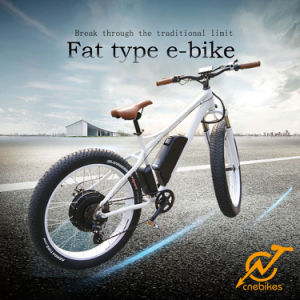 1kw Electric Mountain Bikes with Fat Tire 26X4′ for Sale pictures & photos
