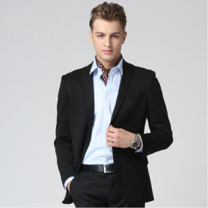 2014 Fashion New Design Cotton Men Suit (W0232)