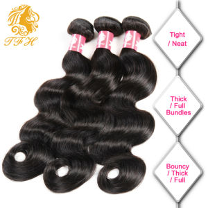 100% Brazilian Virgin Human Hair Body Wave with Lace Closure pictures & photos