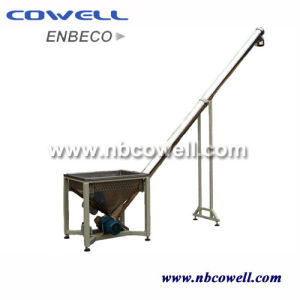 Vertical Spiral Screw Conveyor with Hopper for Conveying Powder