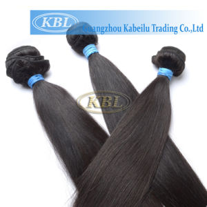 100 Virgin Brazilian Remy Hair Weft, Human Hair Weave (KBL-ST) pictures & photos