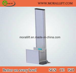 Hot Sale Vertical Model Hydraulic Disabled Wheelchair Lift pictures & photos
