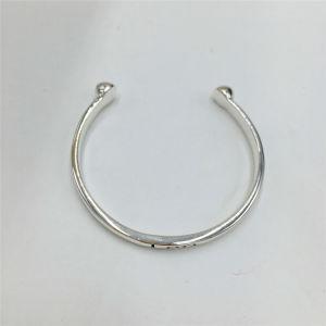 Simple Alloy Open Bangle Bracelet