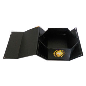 High Quality Handmade Magnet Paper Folding Shoe Boxes pictures & photos