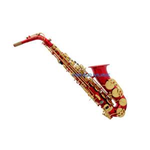 Pango Music High-Grade Red Alto Saxophone (PAS-016) pictures & photos