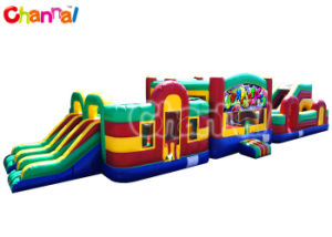 70ft Super Challenge Inflatable Obstacle Course Playgroud for Adults Bb285 pictures & photos
