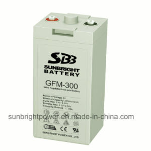 2V300ah High Quality Deep Cycle Power AGM Telecom Battery pictures & photos