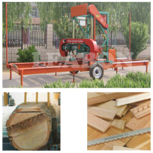 Automatic Diesel Portable Wood Sawmill Machine Equipment for Sale pictures & photos