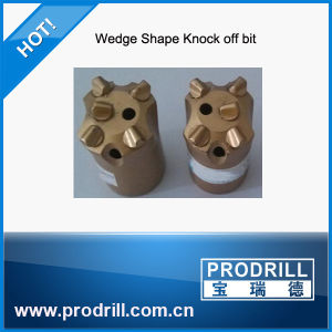 Wholesale Factory Price Tapered Wedge-Shape Button Bit for Drilling pictures & photos