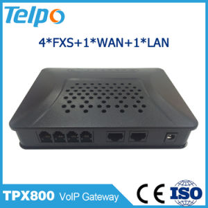 China Suppliers High Quality 4port Voice Home VoIP Gateway FXS pictures & photos