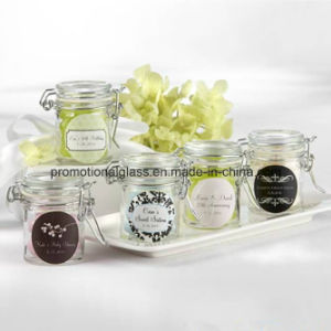 Personalised 40ml Mini Candle Jar with Clip Lid
