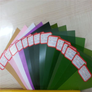 Green PVC Rigid Film for Christmas Tree pictures & photos