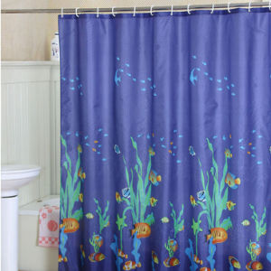 Custom Printed Satin Shower Curtain pictures & photos