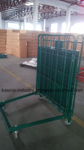 Strong Logistic Table Trolley Shelf Cart with 4 Swivel Caster pictures & photos