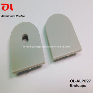 LED Anodised Round Surfacehanging Extrusion Aluminum Profile pictures & photos