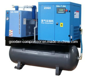 Ziqi Mounted Air Compressor 5.5kw 7bar pictures & photos
