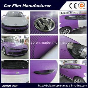 3D Carbon Fiber Car Wrap Vinyl Film pictures & photos