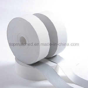Hi-Vis Flame Retardant Silver Aramid Reflective Tape for Clothing pictures & photos