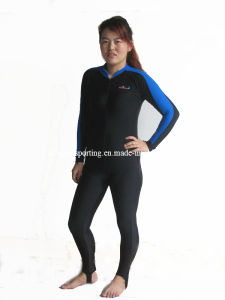 Women′s Long Lycra Rash Guard/Swimwear/Sports Wear/Wetsuit pictures & photos