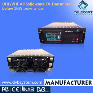UHF/VHF All Solid-State TV Transmitter Below 1kw