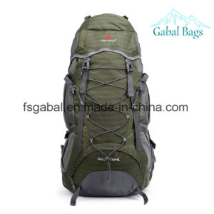Lightweight Mountaineering Outdoor Sport Hiking Bag Travel Camping Backpack pictures & photos