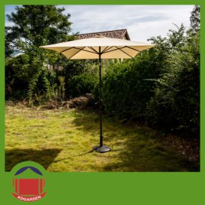 New Arrival Durable Solar Power Patio Umbrella pictures & photos