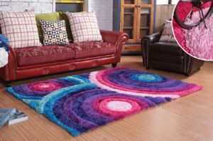 Luxury Living Room 3D Carpet /Rug / Shaggy